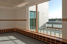 Brimmond School - Cloakroom and Terrace