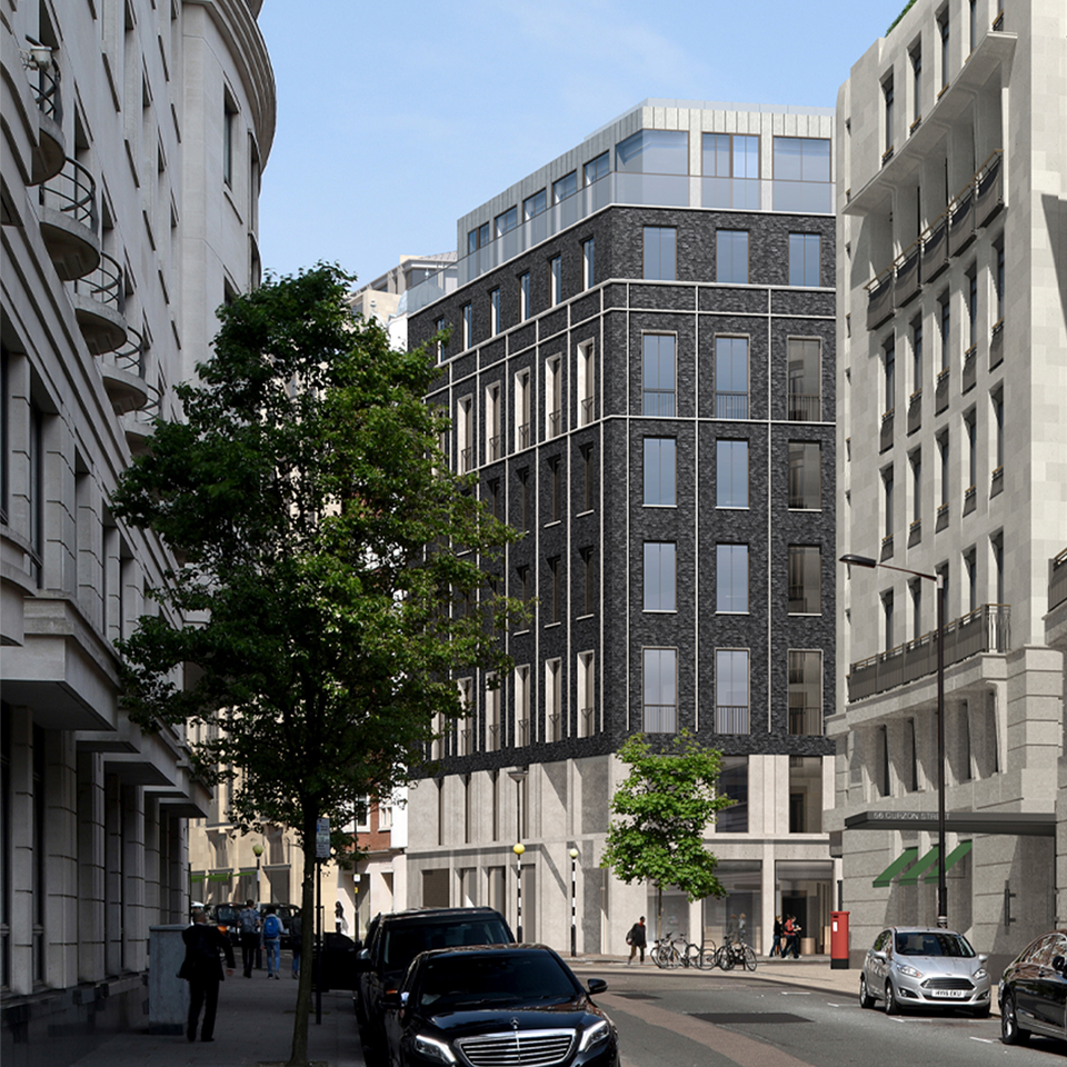 Planning Approval for New Office Development in the heart of Mayfair