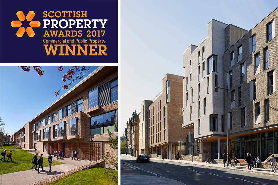 Holyrood North and James Gillespie's Campus Triumph at Scottish Property Awards