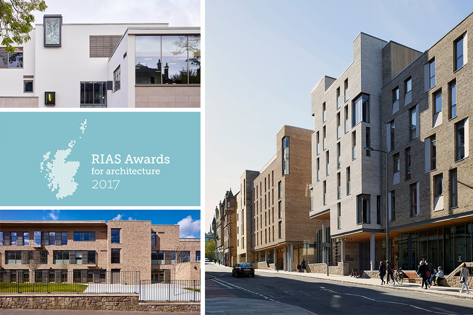 Multiple Shortlisting for jmarchitects in 2017 RIAS Awards