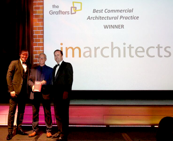 Commercial Architect of the Year at 2017 Grafters Awards