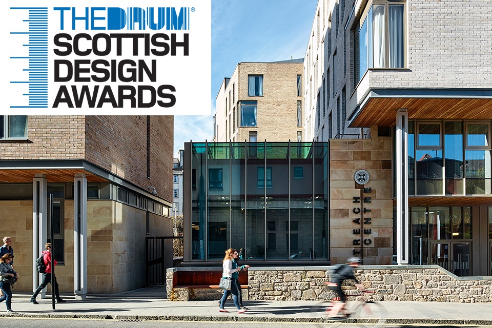 Double win for Holyrood North at 2017 Scottish Design Awards