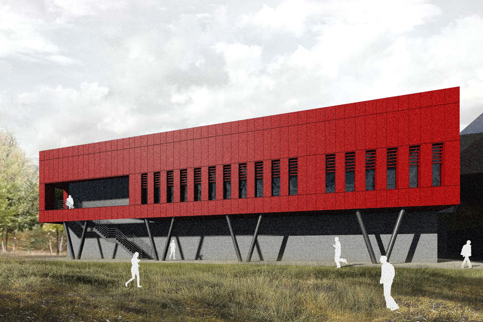 Planning Submitted for Lancaster University Sports Conditioning Suite and Gym