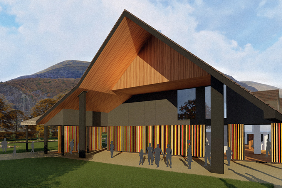 Planning Submitted for Llanberis 'Electric Mountain' Visitor centre