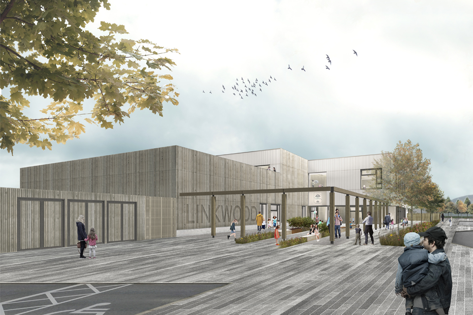 Planning Approval for Linkwood Primary School
