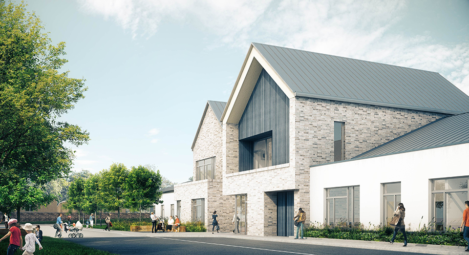 Public Invited to visit jmarchitects Stirling Health and Care Village