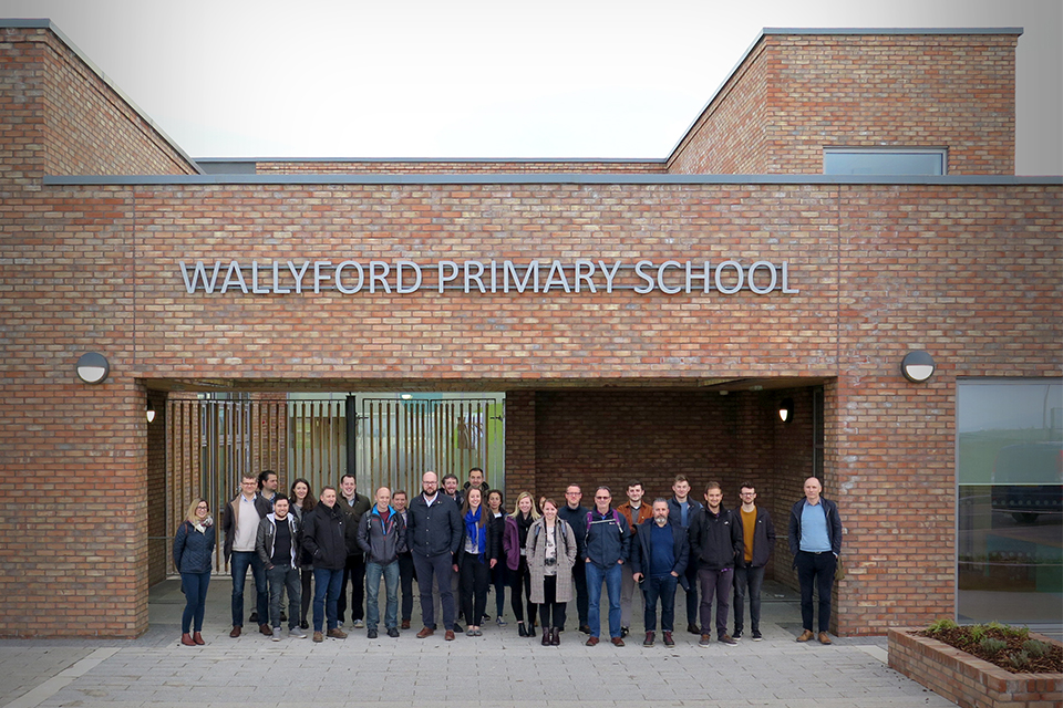 Studio visit to Wallyford Primary School