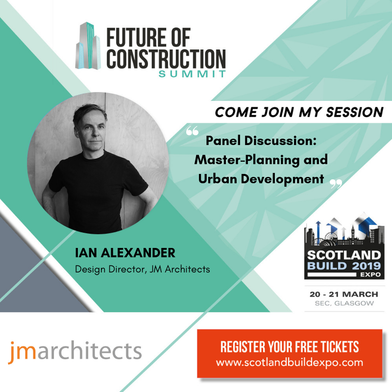 Come join Ian Alexander for a conversation at Scotland Build