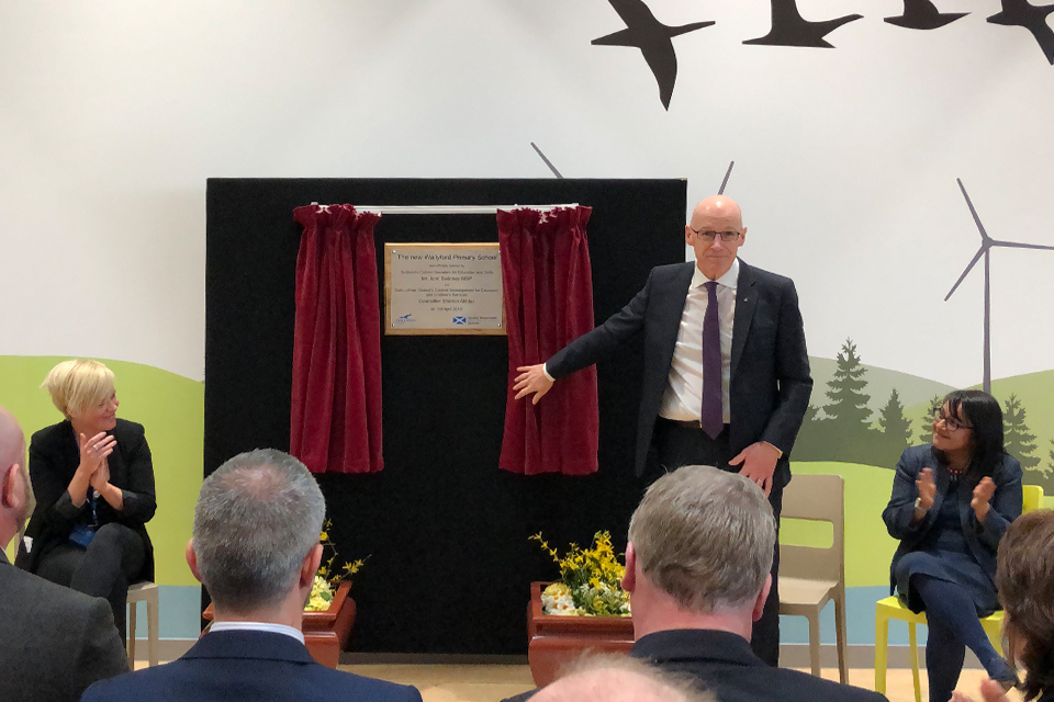 Wallyford Primary Opens